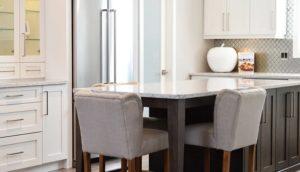 Schön gestaltete Küchen-Ecke